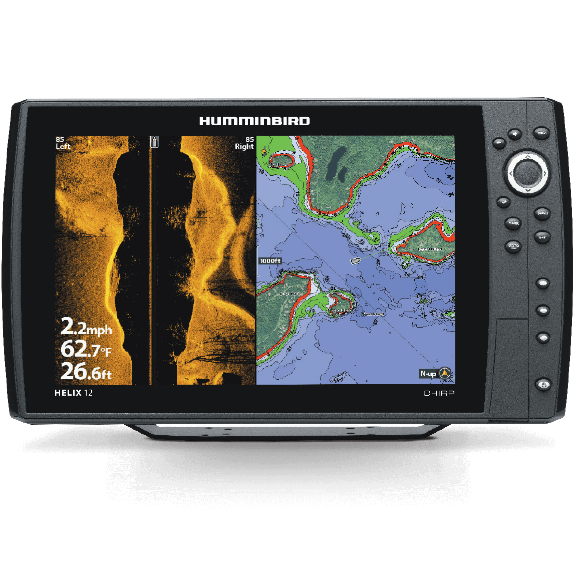 Helix 12 CHIRP MEGA SI GPS G2N - Click Image to Close