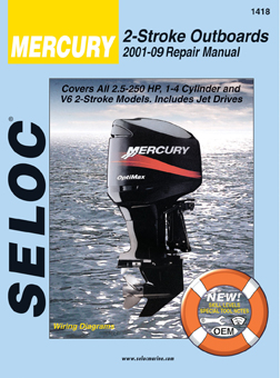 Mercury Outboards 2001-09 All Engines 2 Stroke