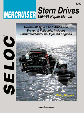 Mercruiser Stern Drive 1964-91 Repair Manual